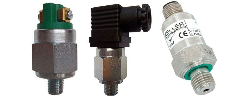 PRESSURE SWITCHES and PRESSURE TRANSMITTERS